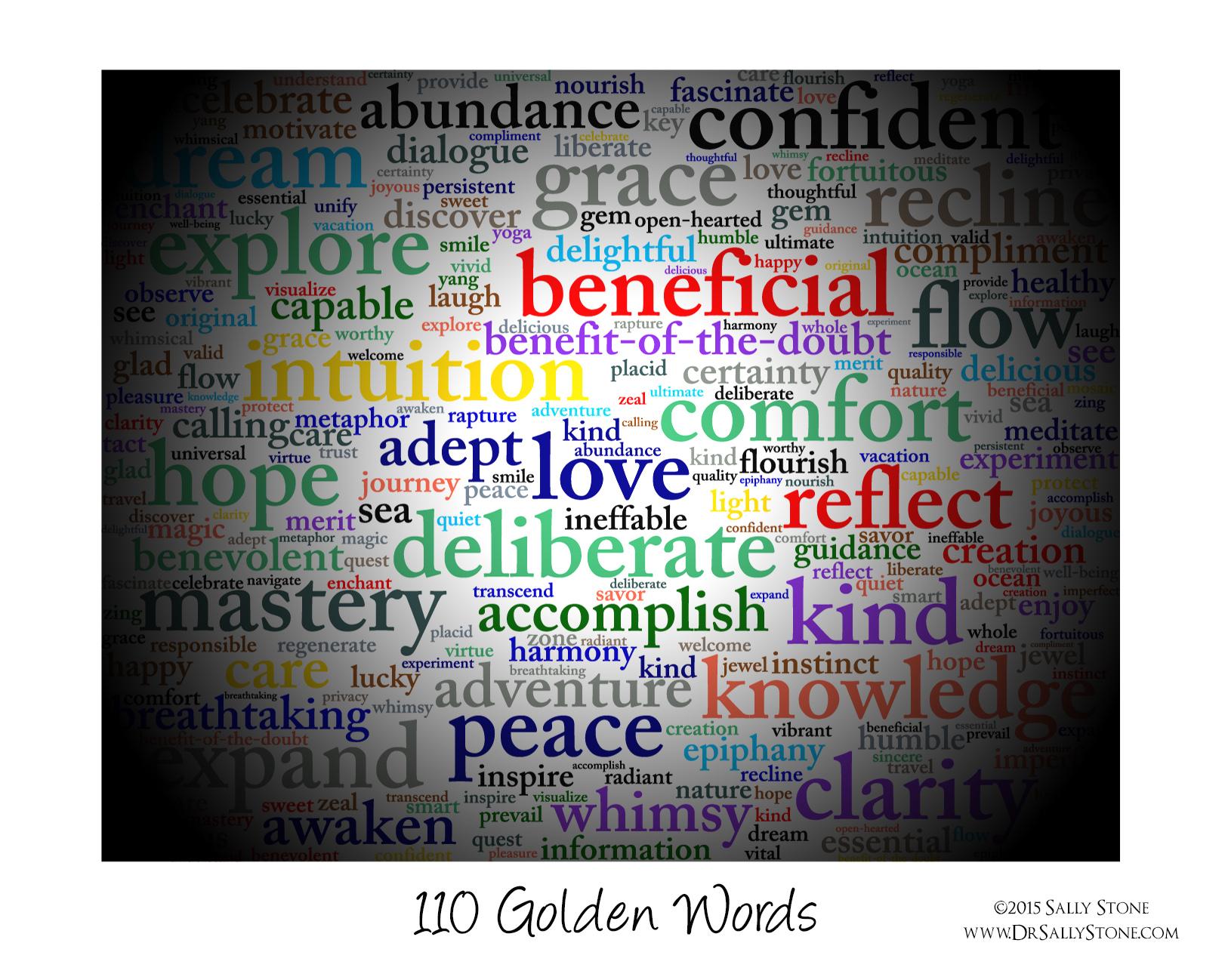 110 Golden Words