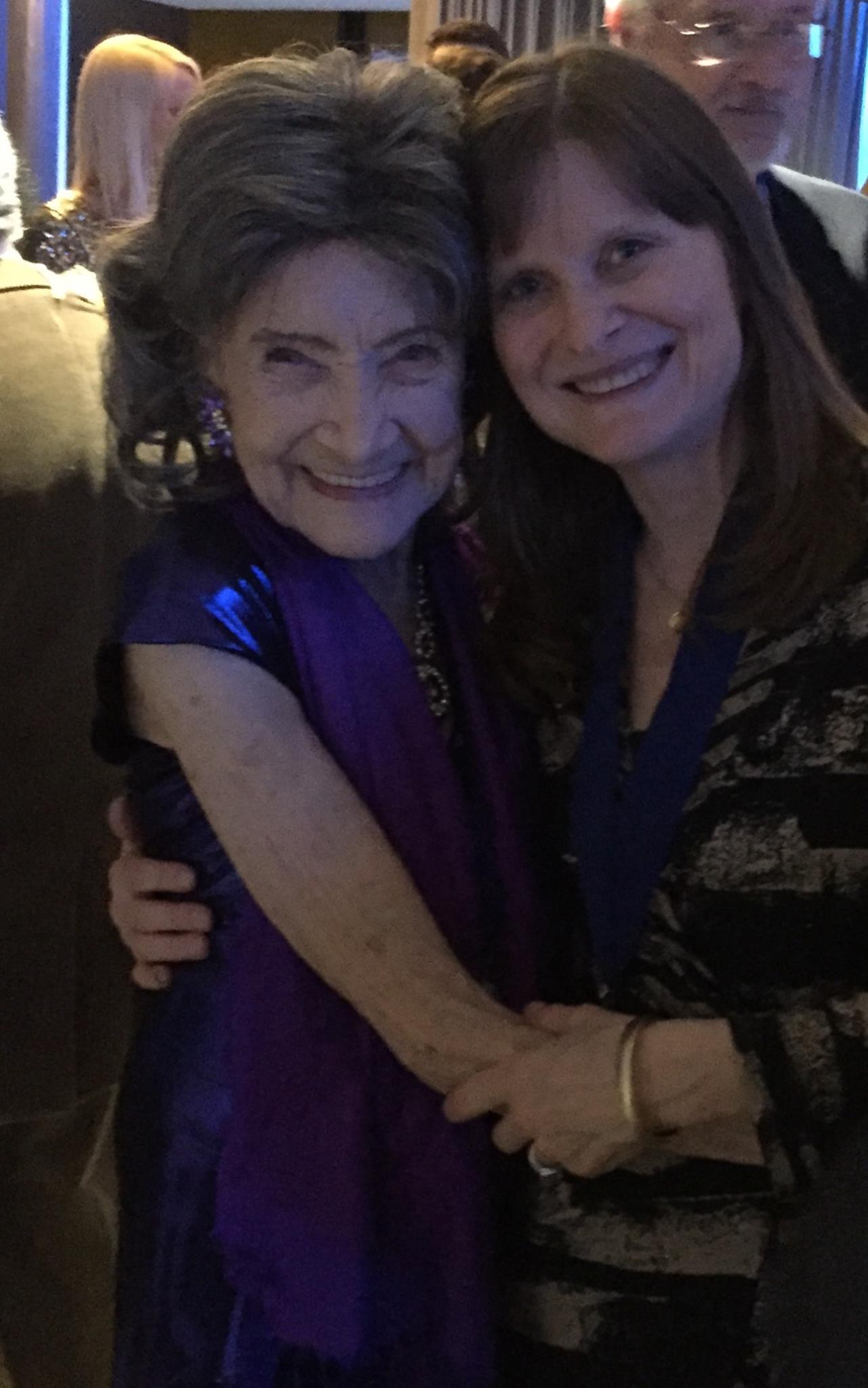 With 97-year young Tao Porchon-Lynch at the IPPY Awards.